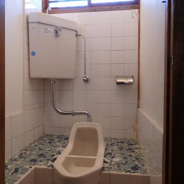 まさかの和式トイレ!