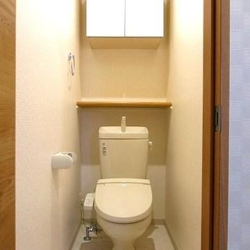 トイレの収納もばっちりです