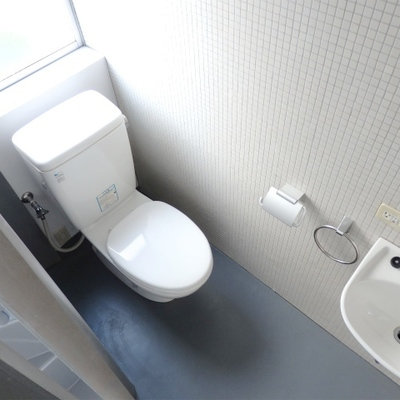 トイレはウォシュレットなし。