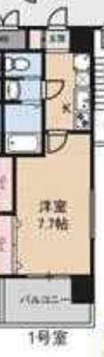 ku10:ラグゼ新大阪Ⅰ の間取り