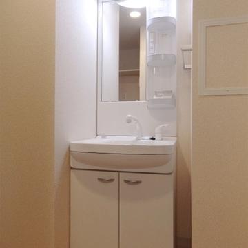 独立洗面台もバッチリ。