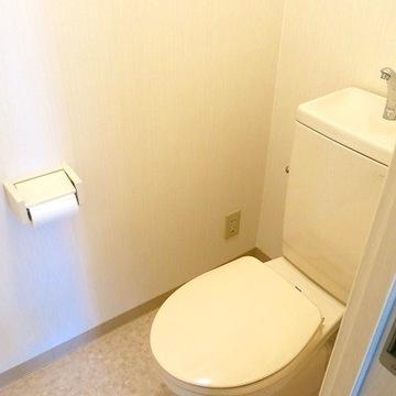 トイレも普通です