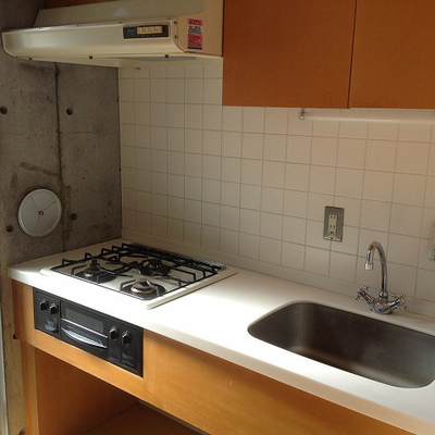 キッチンも使い勝手良さそう※写真は同じ間取りの別室です