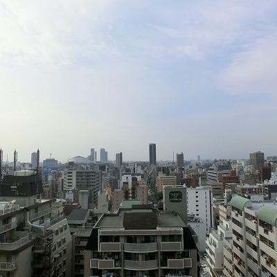 18階からの眺めはこのような感じです!