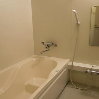 余裕のある広さのお風呂。