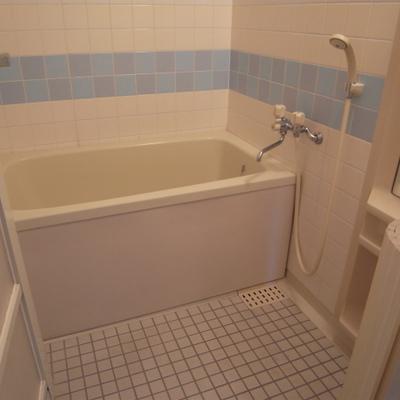 お風呂は普通でした