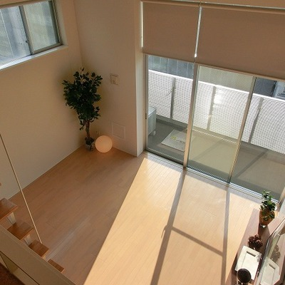 天井の高さがなかなか魅力的。 ※写真は別部屋です