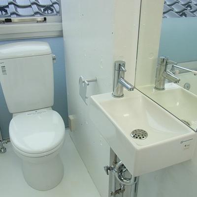 独立洗面があります※写真は別部屋です