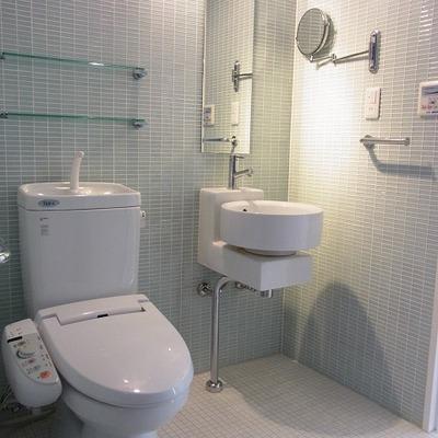トイレ・洗面・お風呂は1室