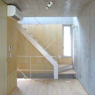 階段もおしゃれ(写真は別室)