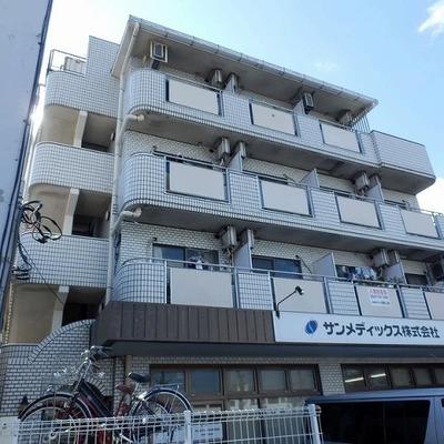 しっかりしたRC造のマンション。