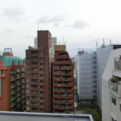 都会の中の景色ですね~※画像は10202号室
