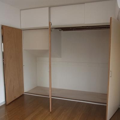 寝室側の収納