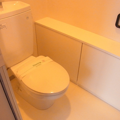 トイレもいい感じ。ウォシュレットではありません