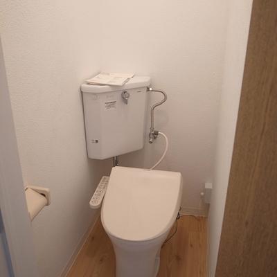 トイレも新しいですよ!
