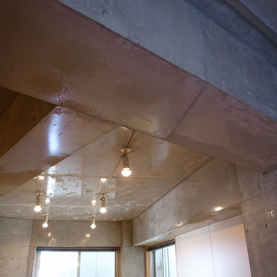 この天井、やられました。すごくいい。
