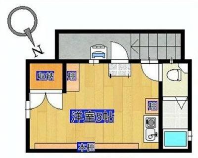 第2の家? at 恵比寿。 の間取り