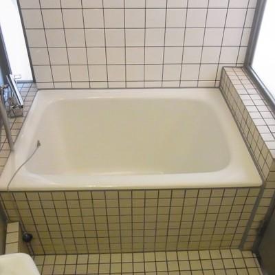 お風呂はこじんまりかと。 ※写真は別室です
