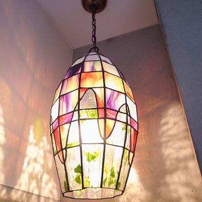 エントランス・素敵なランプがお迎えしてくれます♪