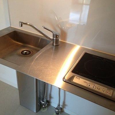 これが新品キッチンです。