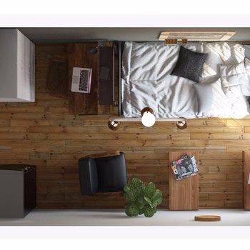 こんな感じの家具の配置はいかがでしょう?(イメージCGです)