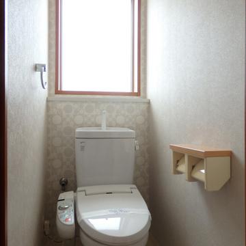トイレも本当に明るい