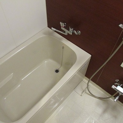 浴槽も大きめ!