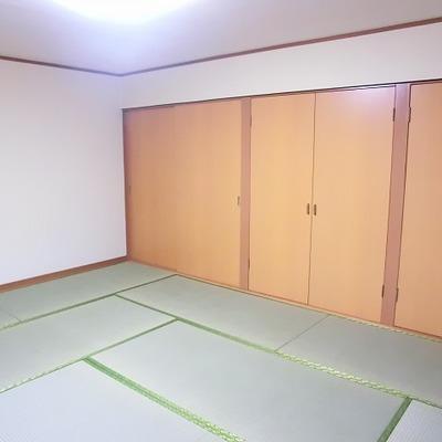 2階の和室。落ち着く。