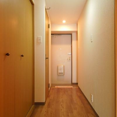 収納は廊下にあります
