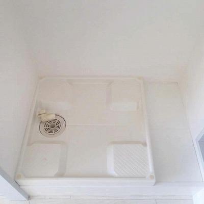 洗濯機も室内へ