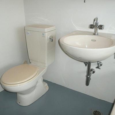 洗面台もあります。※写真は前回募集時のものです