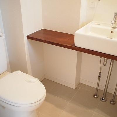 トイレ&洗面台※写真は別部屋