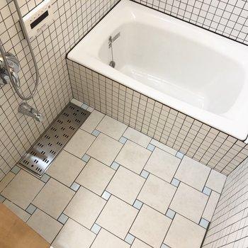 バスルームもかわいい。