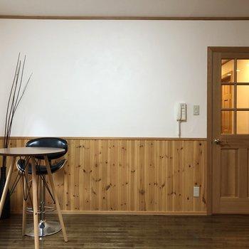 【LDK】天然無垢床が心地いいお部屋。※家具はサンプルです