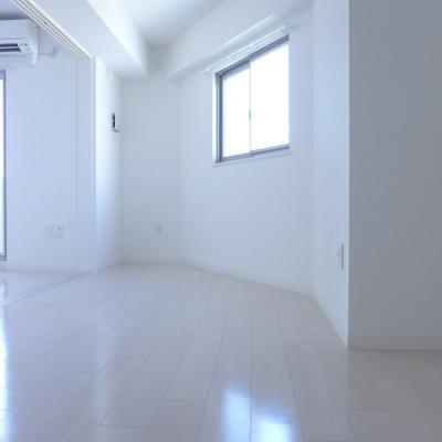 二面採光で、こんなにもお部屋が明るくなります!