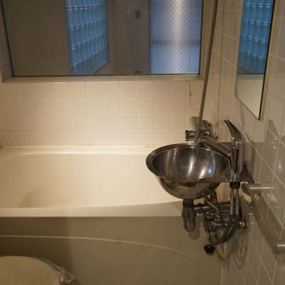 バスルームは他の部屋に比べてゴージャス仕様