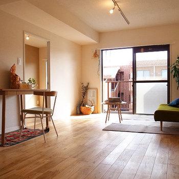 素敵な家具たちで暮らしを彩りたい※写真は同間取り別部屋