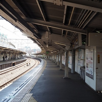 西武新宿線のホーム結構好きです!