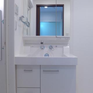 洗面台、大きいです!収納も十分!※写真は別部屋になります。