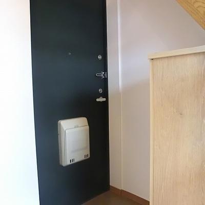 玄関収納も問題なし。