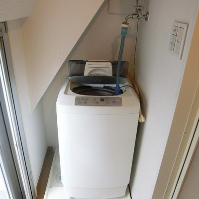 洗濯機付き!