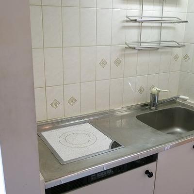 古めのキッチン