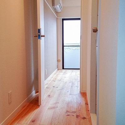 1Rでもちゃんと廊下があります。※写真は前回募集時のものです