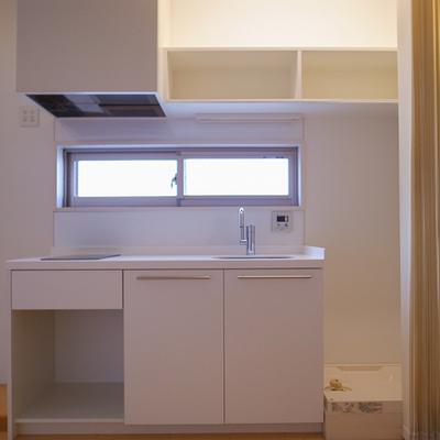 キッチンはシンプルなグッドデザイン。 ※写真は前回募集時のものです。