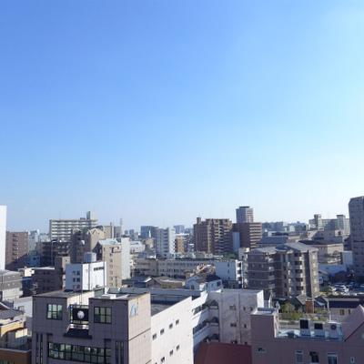 眺望good!さすが10階!最上階!