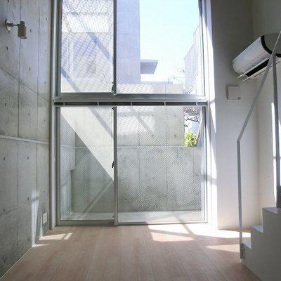 温室のようなお部屋。