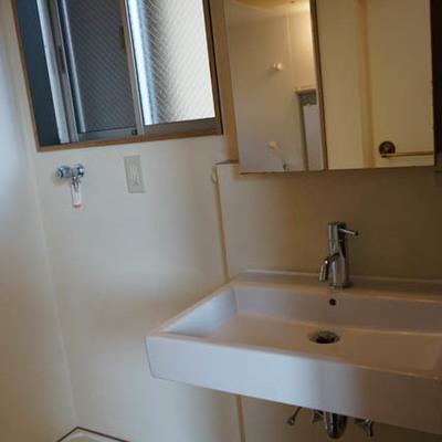 もちろん洗面台はしっかり別室。