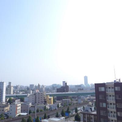 眺望good!さすが10階です!