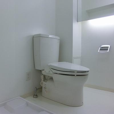 ショールームのようなおトイレ空間