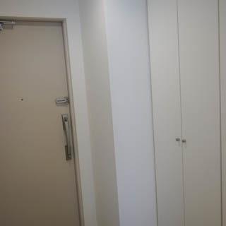 玄関の収納も大きいですよ。※写真は前回募集時のものです